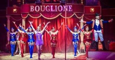 Cirque: Bouglione arrive à Saint-Etienne