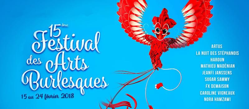 Gagnez vos invitations pour le festival des Arts Burlesques