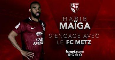 ASSE prête Maïga à Metz avec option d'achat