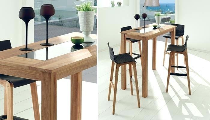 Mange debout alinea cheap belle table haute pour cuisine - Table haute avec tabouret pour cuisine ...