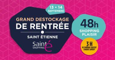48h de shopping plaisir à Saint-Etienne les 13 et 14 septembre