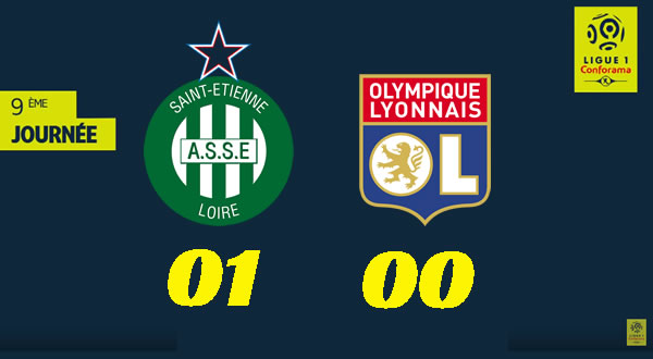 La victoire de Saint-Étienne dans le derby face à Lyon en images