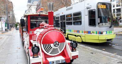 Le petit train et la luge à Saint-Etienne reviennent place Jean-Jaurès