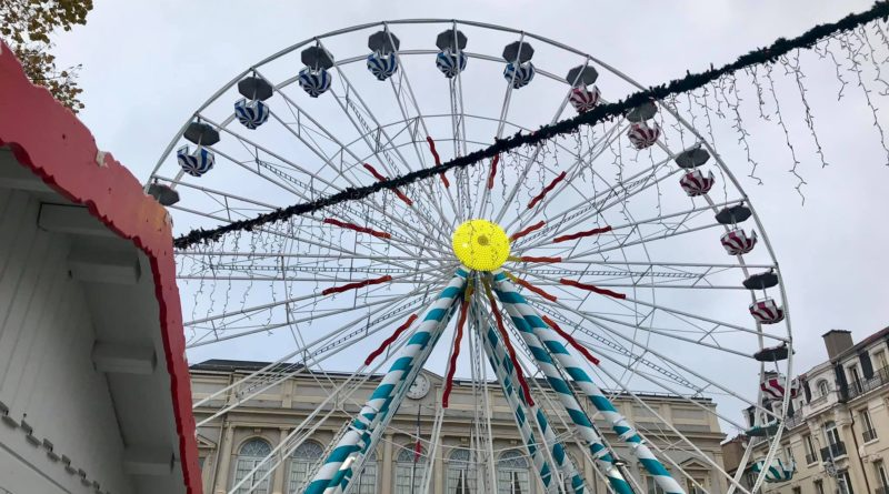 La grande roue de noel de saint etienne