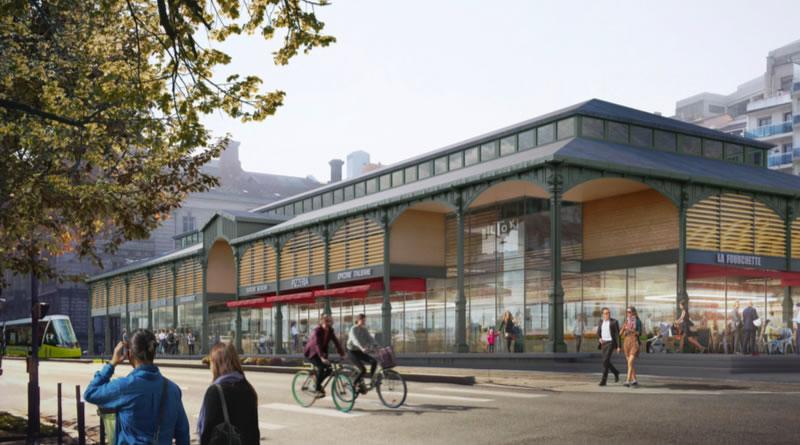 projet halle Biltoki Saint Etienne