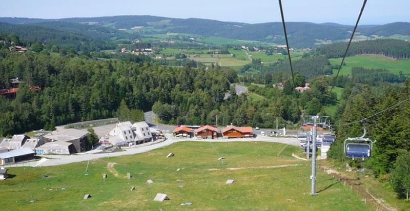 Chalmazel Les pistes de ski sont fermées par manque de neige