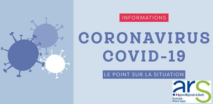 Coronavirus ARS communique 43 cas dans la Loire