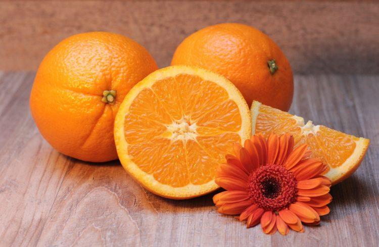 Orange vitamine C